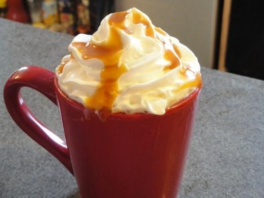 caramelo macchiato café chez kathy
