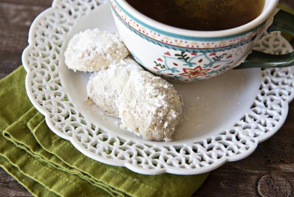 bolas de nozes (biscoitos de natal)