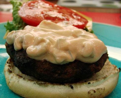 molho de hambúrguer secreto