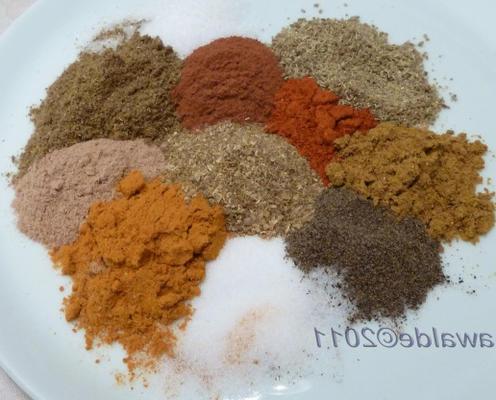 mistura de especiarias ras el hanout