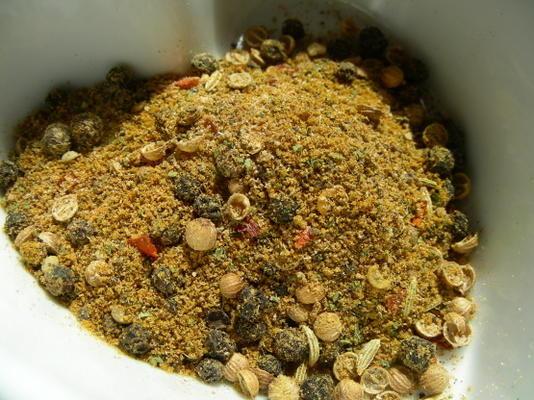 bo-kaap cape malay caril em pó - mistura de especiarias sul-africano
