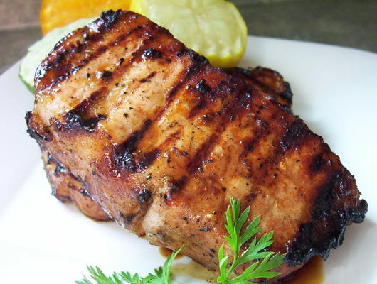 costeletas de porco marinadas cítricas (oamc)