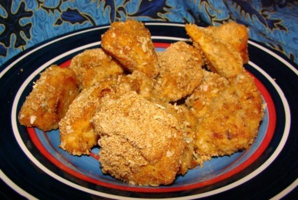 nuggets de frango ao estilo cajun