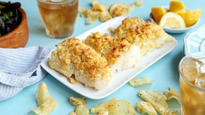 peixe crocante de forno