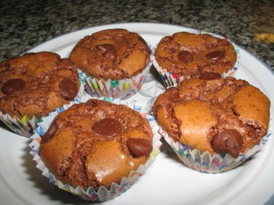 muffins de brownie