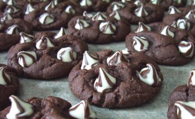 bolinhos de chocolate sonho de listrado