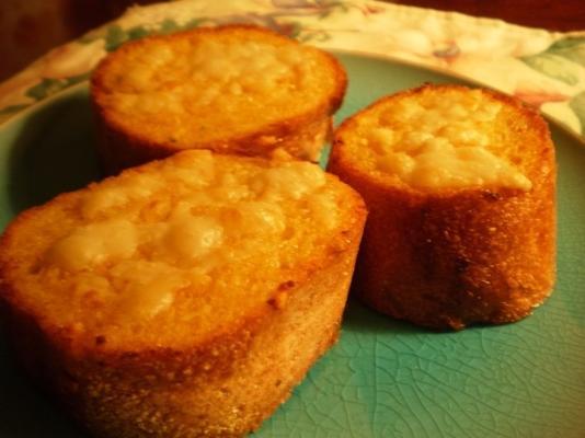 pão de alho sriracha