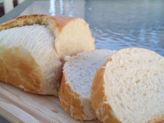 sem amassar pão francês