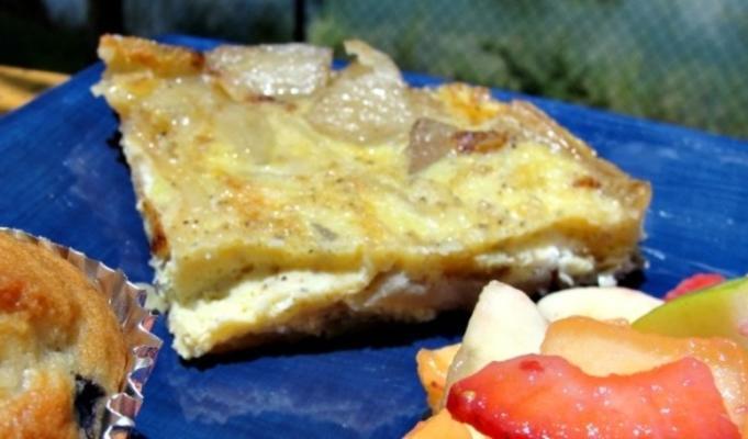 tortilla espanola (omelete de batata espanhola tradicional).