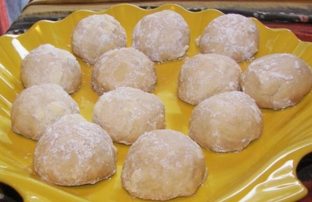 bolos de casamento mexicano (cookies)
