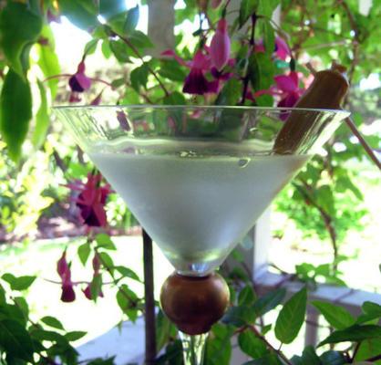 lixo branco de potsie martini sujo