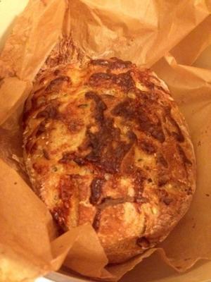 fácil crusty queijo jalapeno pão fantastico
