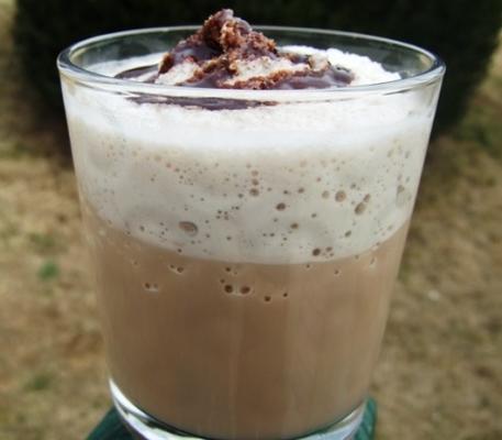 café frappe gelado
