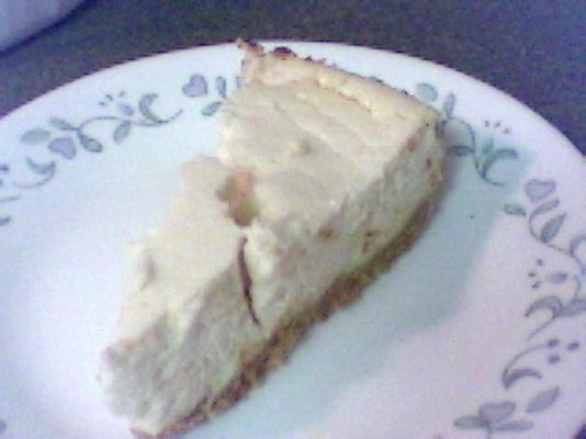 Cheesecake de baixa caloria e baixa gordura