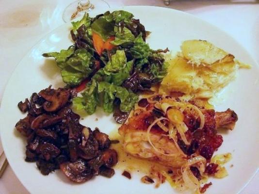 vinagre de bordo frango crocante