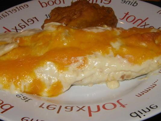 chickaladas de jake - enchiladas de frango