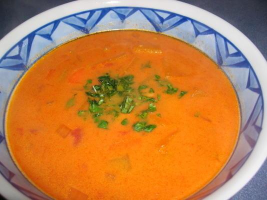 o grão de bico picante e a sopa de butternut da nova fábrica de sopa de inglaterra