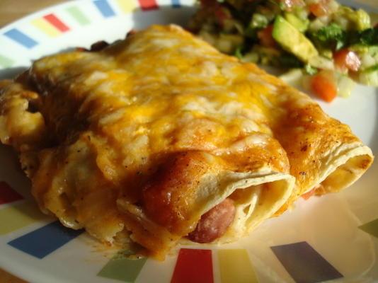 chili recheados enchiladas