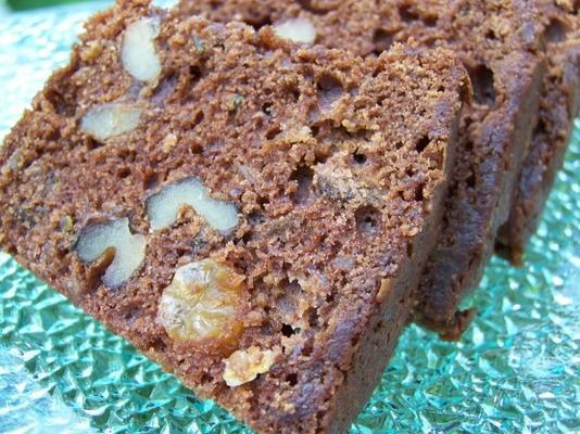 melhor bolo de abobrinha de chocolate