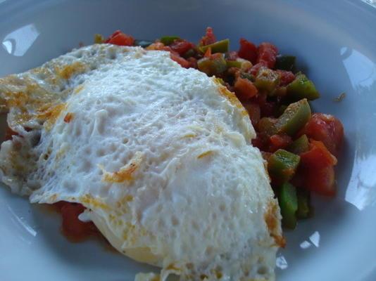 tastira (pimentos e ovos fritos tunisinos)