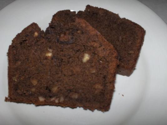 melhor pão de banana chocolate