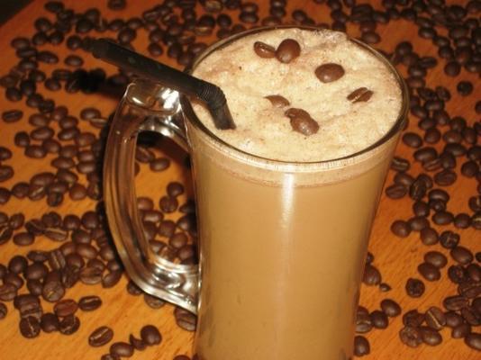 café com milk-shakes de leite