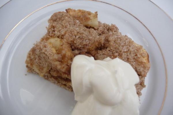 bolo de maçã da mãe
