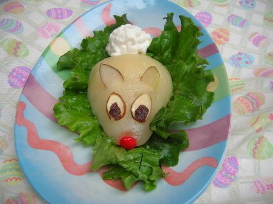 coelho salada de coelho