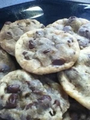 biscoitos com gotas de chocolate de easy-sarah