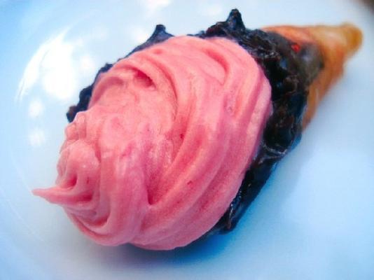 geleia de framboesa buttercream