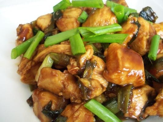 frango e cebolinha asiáticos