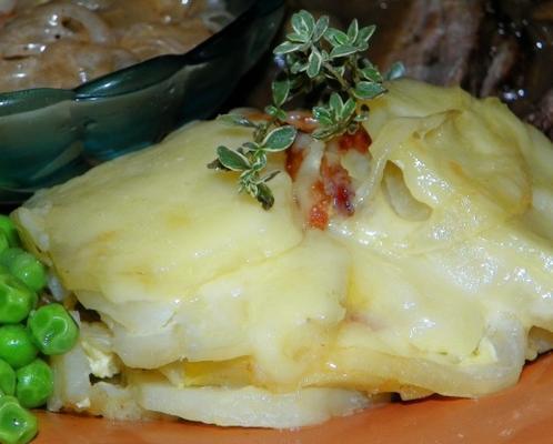 batatas aragonesas gratinado (patatas gratinado de aragão)