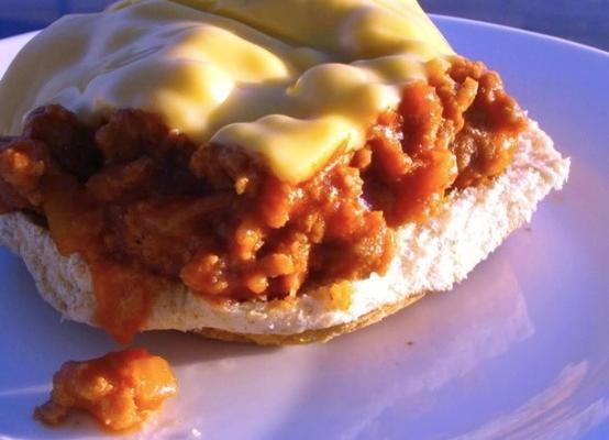 manwich molho desleixado original joe (imitador)