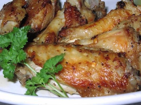 asas de frango africanas