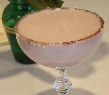 morta de chocolate gelatini (morte de martini de chocolate)