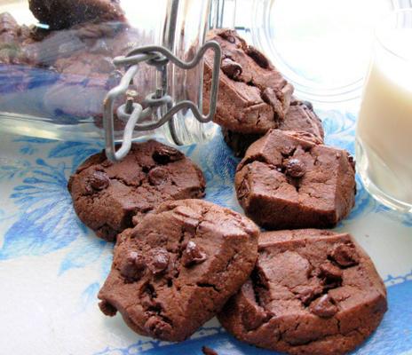 menage a trois (o biscoito de chocolate com chocolate)