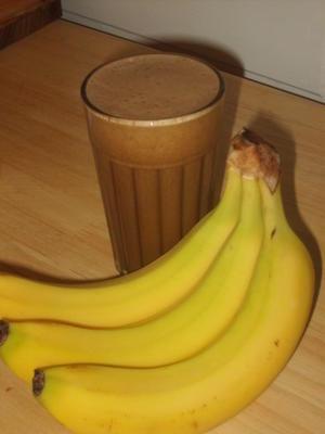frappuccino de banana