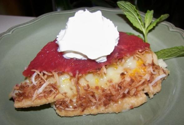 torta de morango tropical