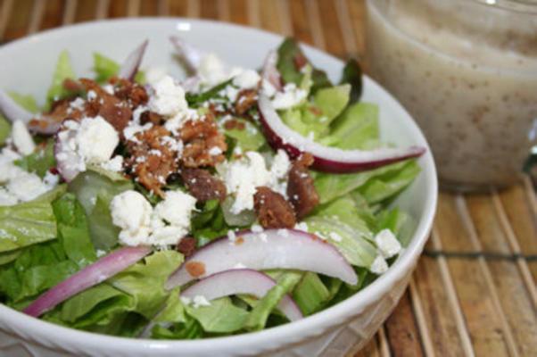 salada de galho de lírio