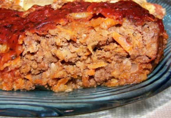 bolo de carne do país
