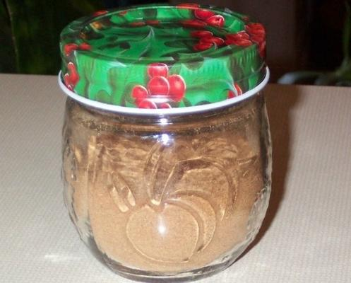 mistura de especiarias doces