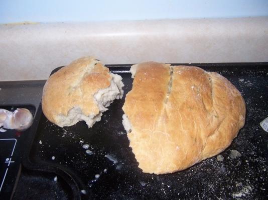 alho rústico e erva pão abm