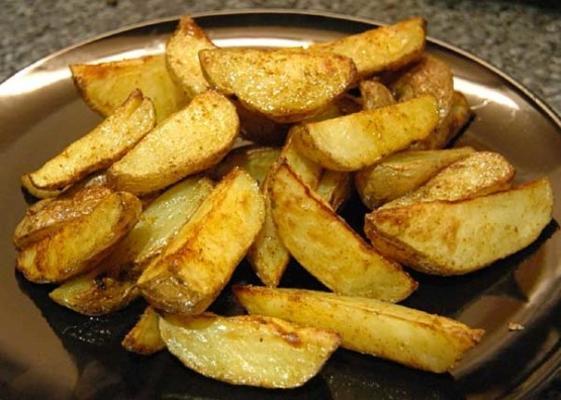 cunhas de batata quente