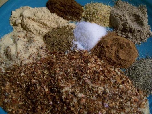berbere eritrean (mistura de pimenta vermelha)