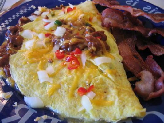 Omelete de pimentão do pai