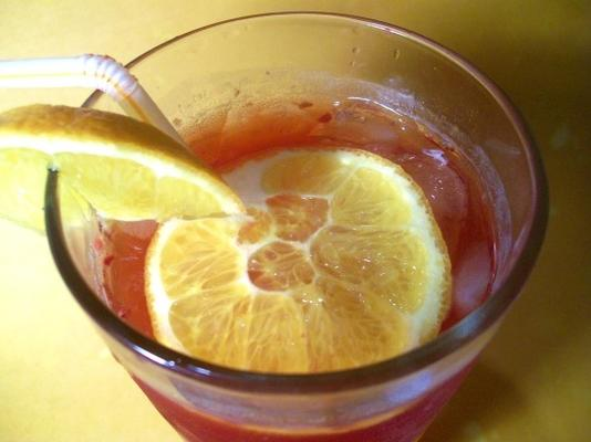 sangria de chá falsa