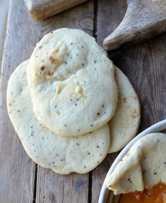 pão marroquino - khobz