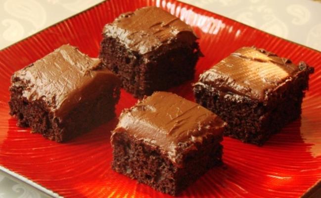 cobertura de chocolate para brownies de abobrinha