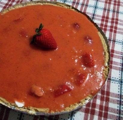 torta de morango com cream cheese