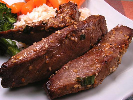 carne de gergelim tailandês